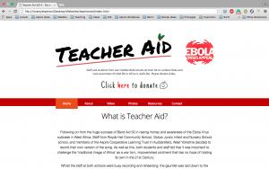 Teacher Aid Screen