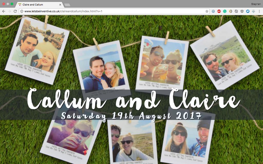 Claire and Callum 1
